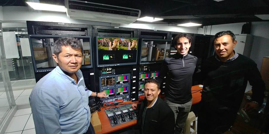 ECUADOR TV SELECTS AEQ TECHNOLOGY TO IMPLEMENT ITS INTERCOM AND MONITORING SYSTEMS