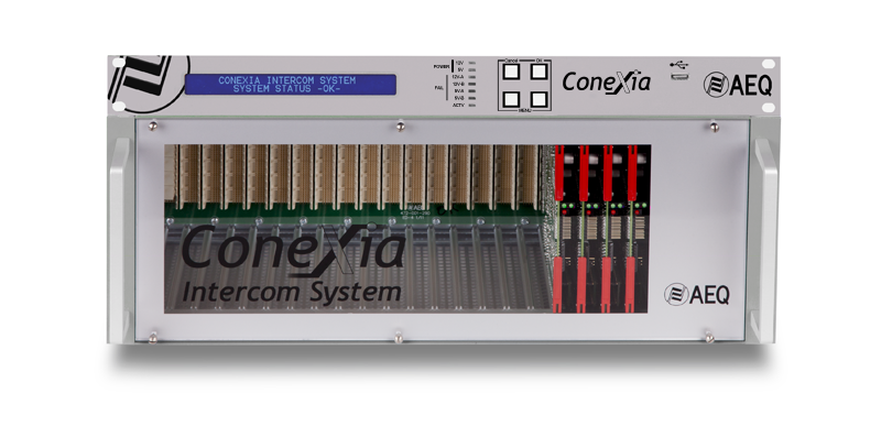 THE CONEXIA INTERCOM SYSTEM IS CONQUERING NEW MARKETS