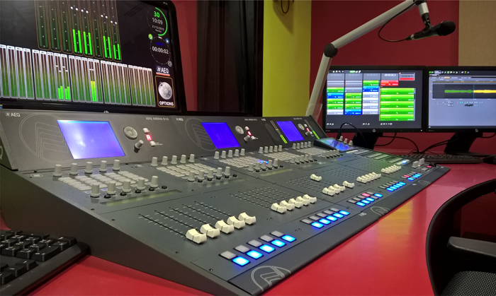 RADIO TTU CHOOSES AEQ ARENA AND GRAND FORUM