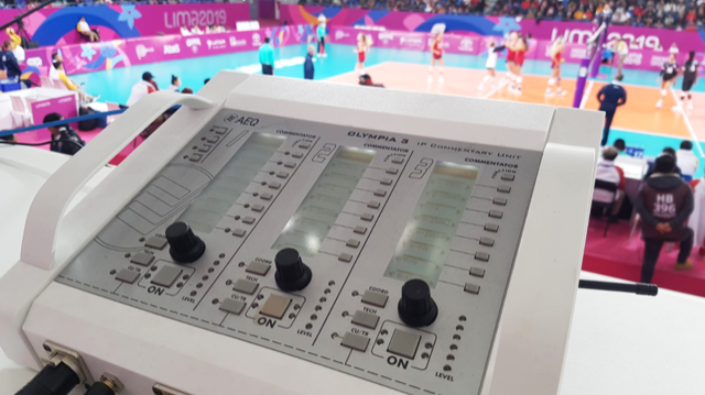AEQ TECHNOLOGY AT THE 2019 PANAMERICAN GAMES