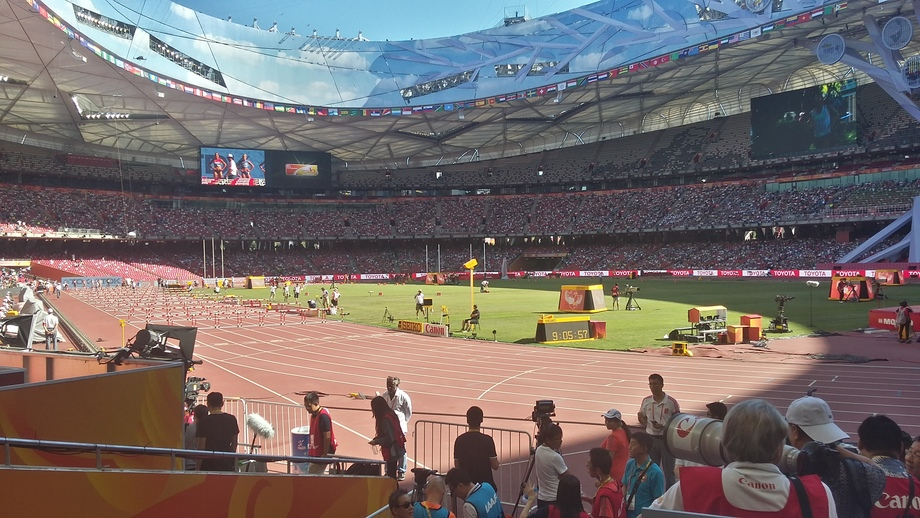 AEQ AoIP solutions at the Athletics World Championships in Beijing 2015
