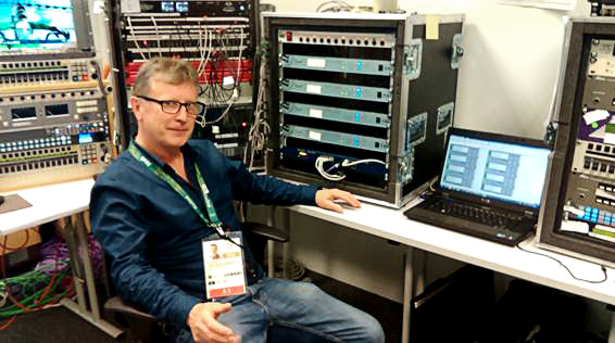 RTE relies on AEQ for its commentary Audio from Rio Olympics.