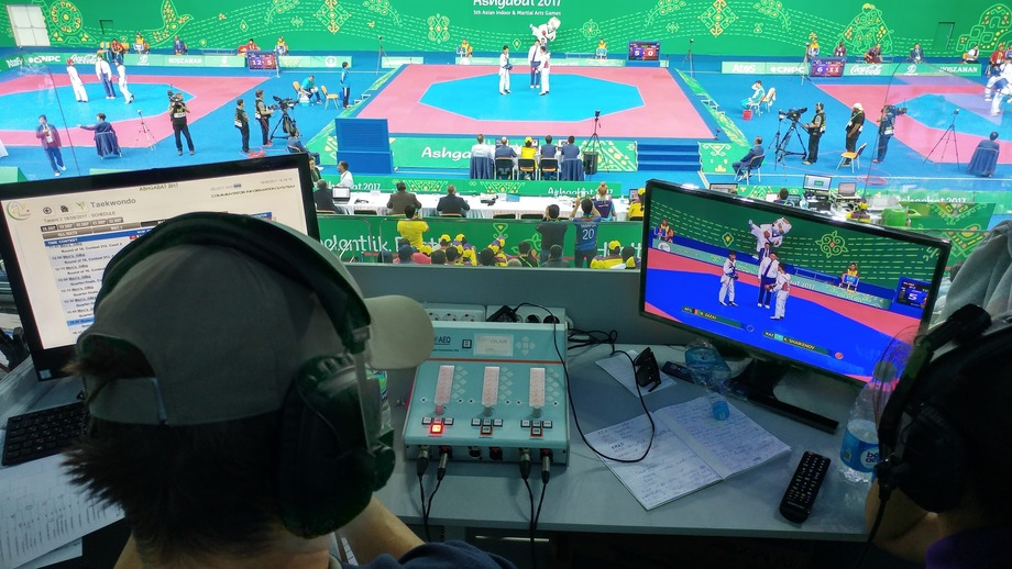 AEQ TECHNOLOGY WAS USED FOR AUDIO BROADCASTING IN 5th ASIAN INDOOR GAMES