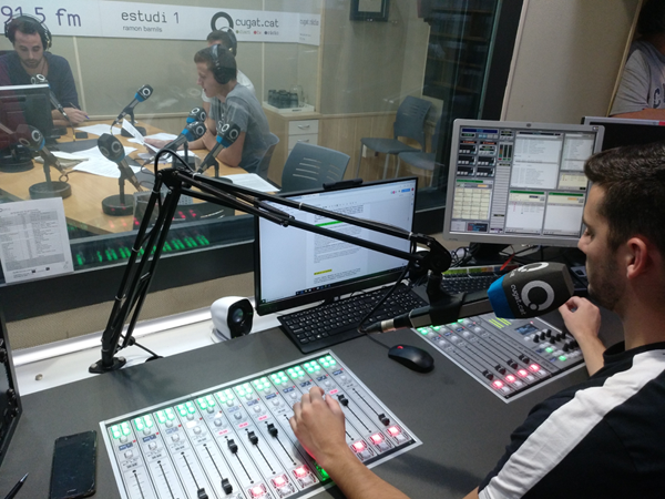 EPEL Cugat.cat renews its radio studios using AEQ IP technology