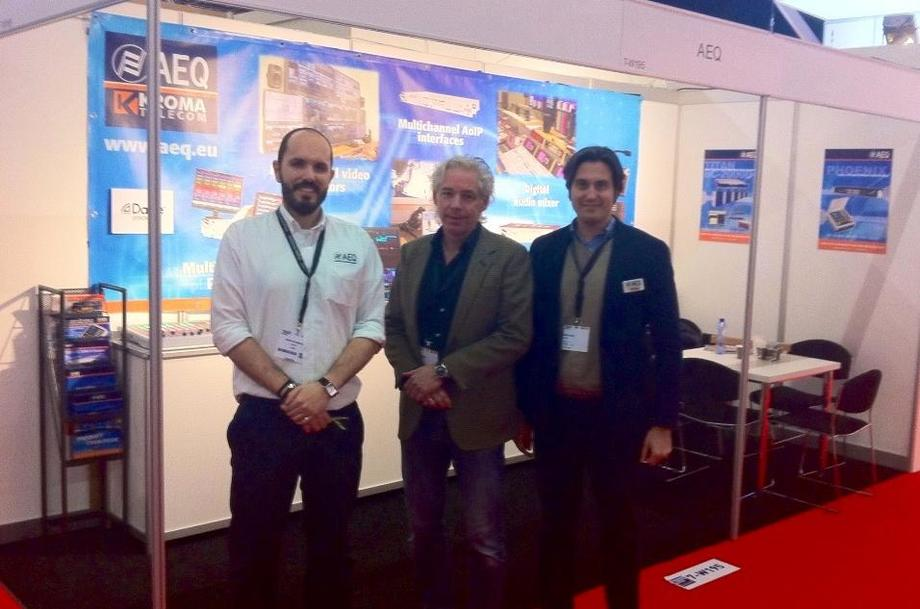 AEQ-KROMA INTRODUCES NEW PRODUCTS AT ISE 2015