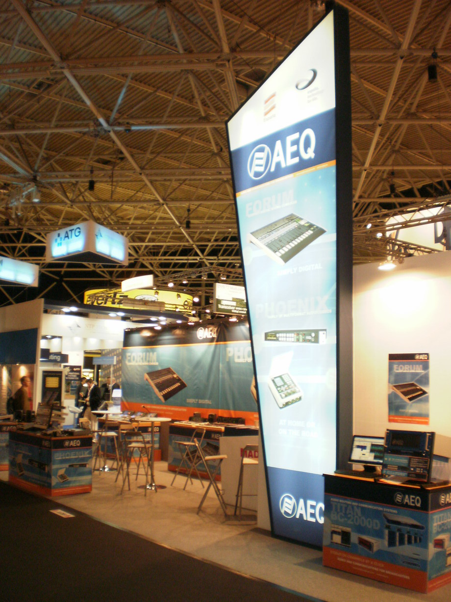 AEQ INTRODUCES NEW PRODUCTS AT IBC 2012