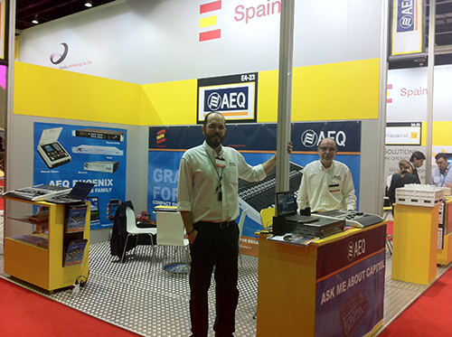 AEQ INTRODUCES NEW PRODUCTS AT CABSAT 2013