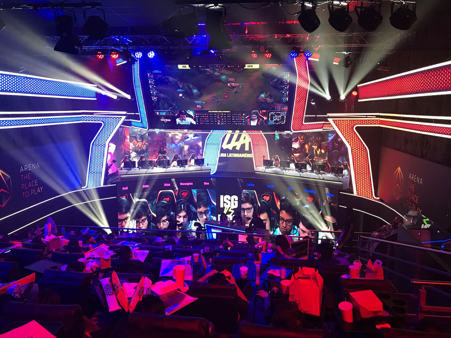 AEQ provided the intercom system for the League of Legends held at e-Sports Arena in Ciudad de Mexico