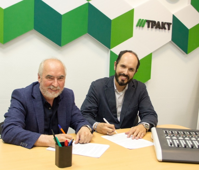 AEQ and TRACT sign an exclusive contract for the radio market in Russia