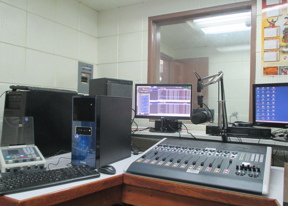 AEQ equipments in the Studios of the Cultural Radio of Toquepala renewal
